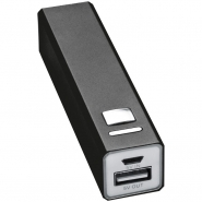 Metalowy power bank 2200mAh PORT HOPE EG 7755